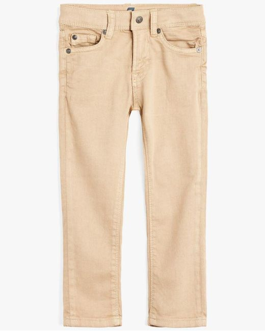 7 For All Mankind - Natural Boy's 4-7 Paxtyn In Stone for Men - Lyst