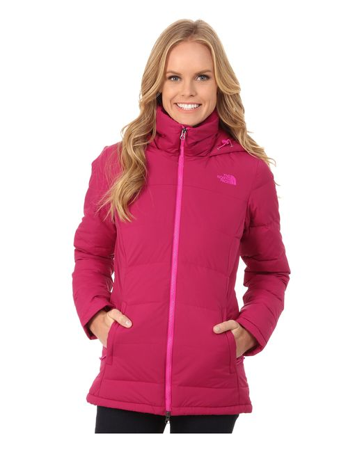 The North Face | Pink Fossil Ridge Parka | Lyst