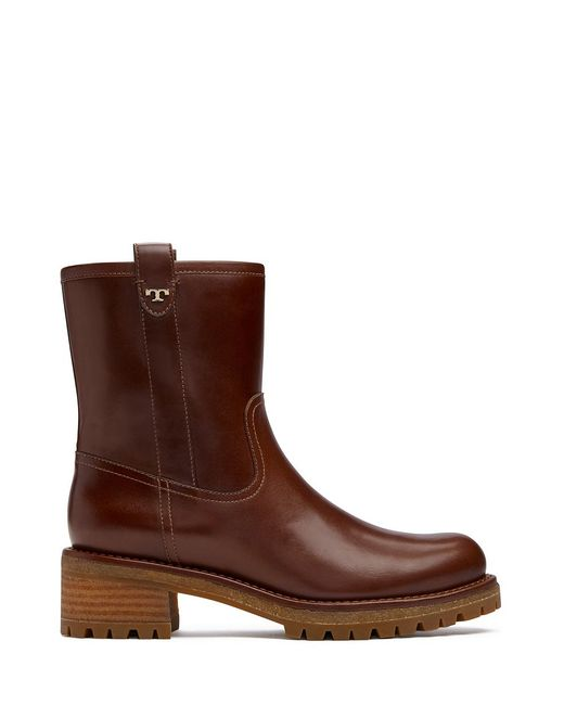 Tory Burch | Brown Foster Bootie | Lyst