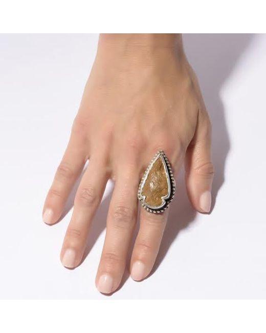 Pamela Love | Brown Jasper Ring - Size 7 | Lyst