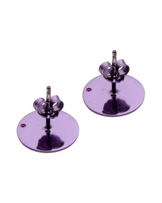 Loroetu | Purple Earrings | Lyst