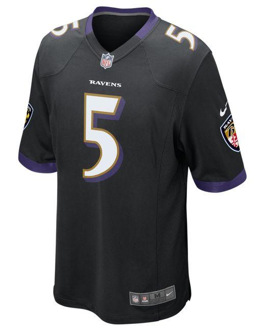 Nike Men S Joe Flacco Baltimore Ravens Limited Jersey In