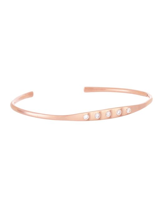 Carbon & Hyde | Pink High Five Bangle | Lyst