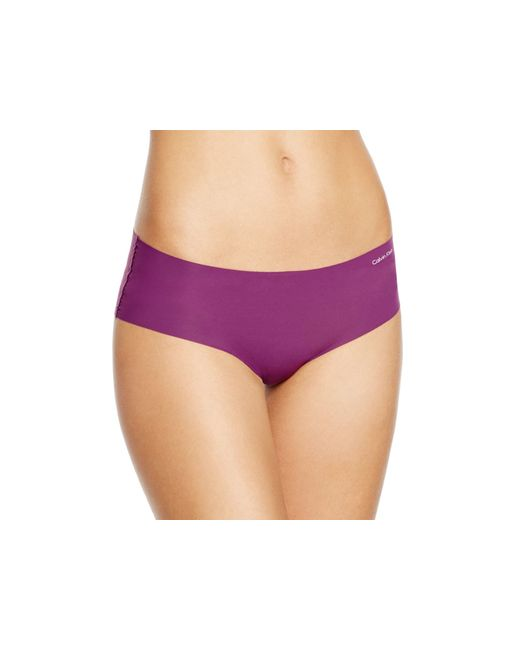 Calvin Klein | Purple Invisibles Hipster #d3429 | Lyst