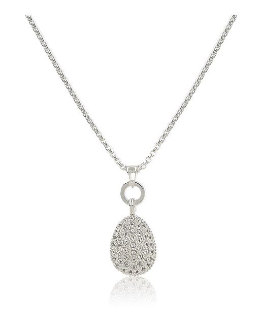 Links of London | Metallic Hope White Topaz Pendant | Lyst