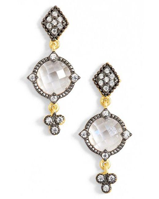 Freida Rothman | Metallic Metropolitan Drop Earrings | Lyst