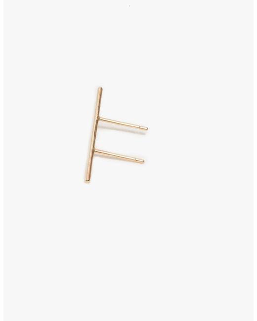 Kathleen Whitaker | Metallic Double Post Stick Earring | Lyst