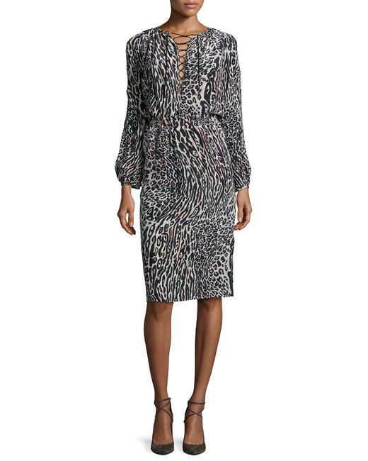 Find long sleeve leopard print dress at ShopStyle. Shop the latest collection of long sleeve leopard print dress from the most popular stores - all in.