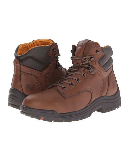 """Timberland   Brown Titan® 6"""" Soft Toe for Men   Lyst"""