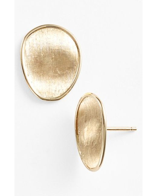 Marco Bicego | Metallic 'lunaria' Stud Earrings | Lyst