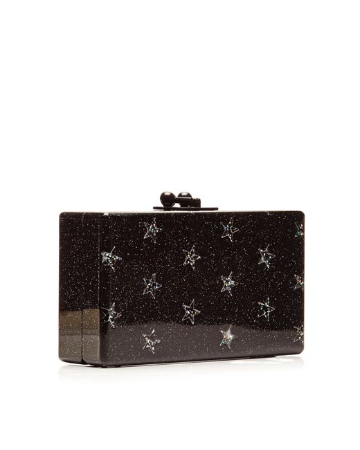 Edie Parker | Black Jean Solid Acrylic Clutch | Lyst