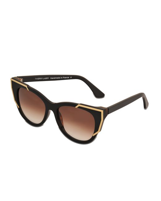 Thierry lasry Neuroty Sunglasses in Gold