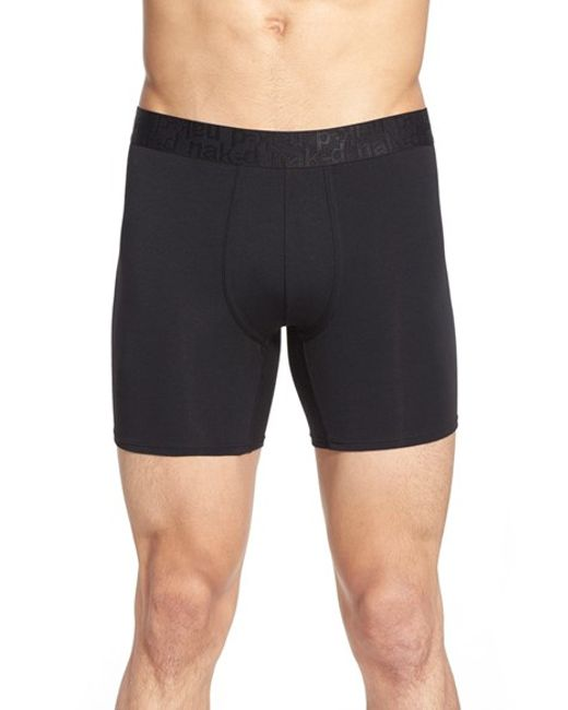 Naked | Black Signature Modal & Cotton Boxer Briefs for Men | Lyst