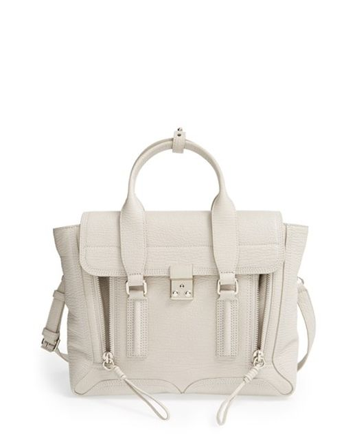 3.1 Phillip Lim | Natural 'medium Pashli' Leather Satchel | Lyst