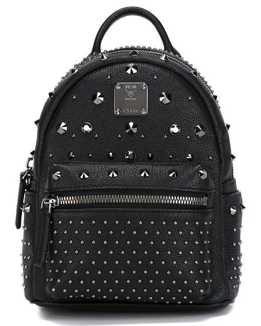 MCM | Blue Visetos Medium Stark Backpack | Lyst