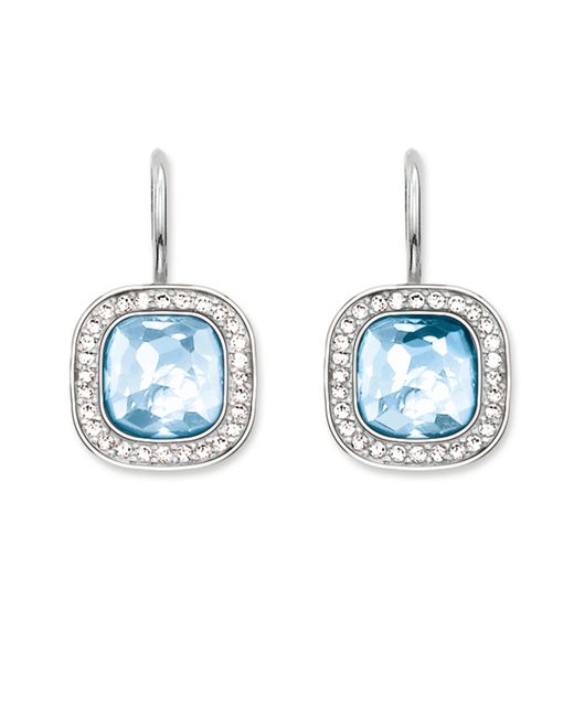 Thomas Sabo | Secret Of Cosmo Blue Spinel Earrings | Lyst