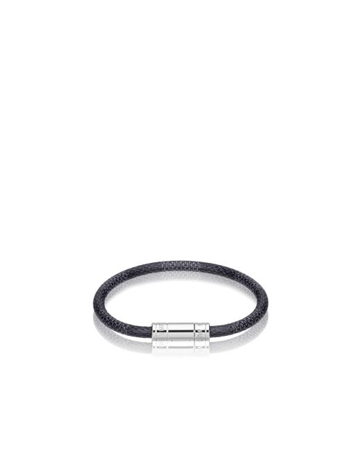 Louis Vuitton | Black Keep It Bracelet for Men | Lyst