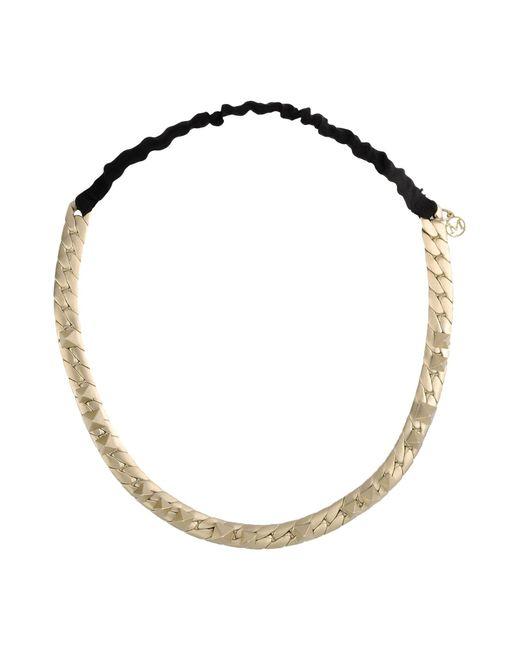 Maison Michel | Metallic Necklace | Lyst