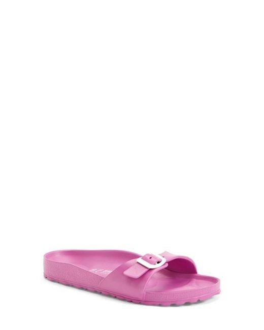 Birkenstock | Pink Madrid 1 Bar Mule | Lyst