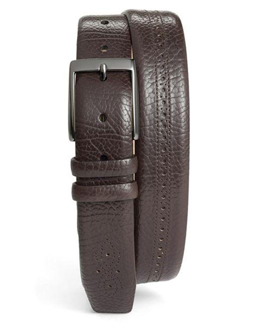 Mezlan | Brown 'perseo' Belt for Men | Lyst