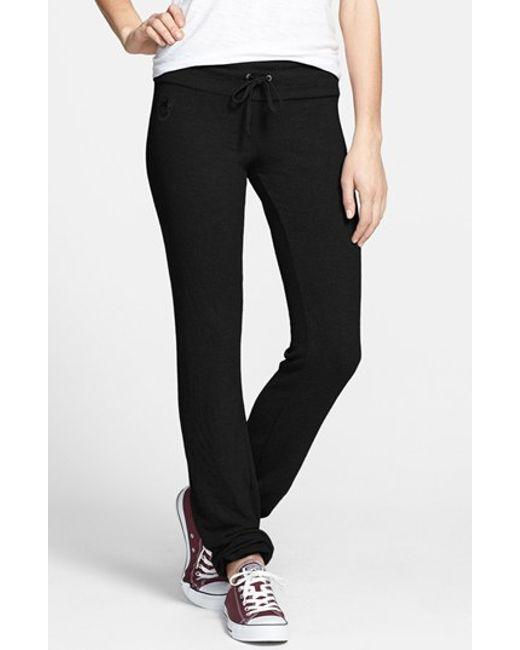 Wildfox   Black 'basics - Malibu' Skinny Jogging Pants   Lyst
