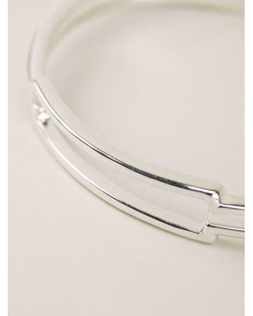 JvdF | Metallic Open Id Bracelet for Men | Lyst