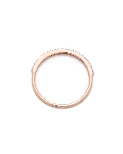 Gorjana | Pink Shimmer Bar Ring | Lyst