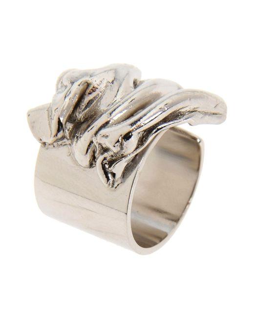 Tamara Akcay | Metallic Ring | Lyst