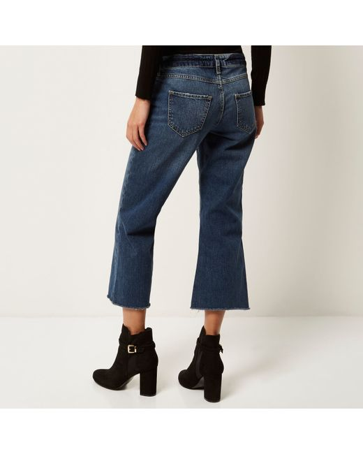River Island Cropped Kick Flare