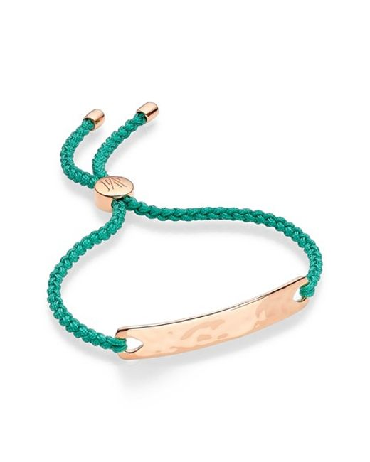 Monica Vinader   Green Havana Friendship Bracelet   Lyst
