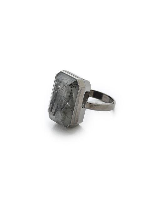Ringly | Gray Aries Activity Tracker & Smart Ring | Lyst