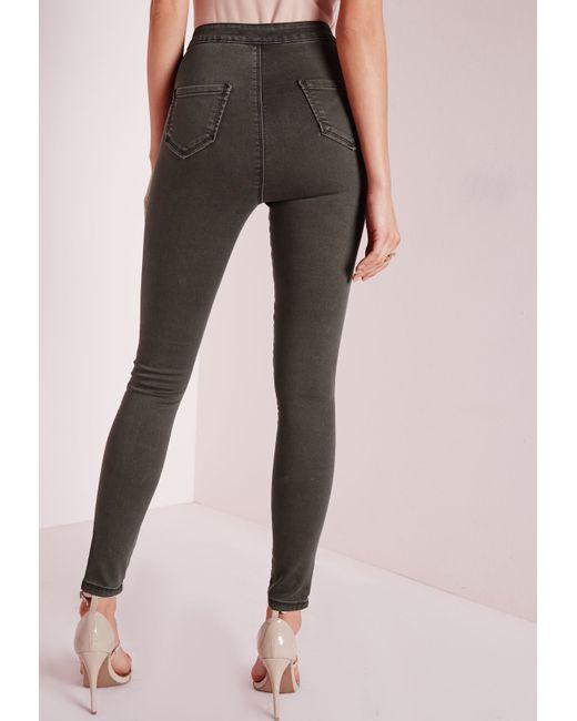 Creative Closed Khaki Pants In Gray For Men Grey  Lyst