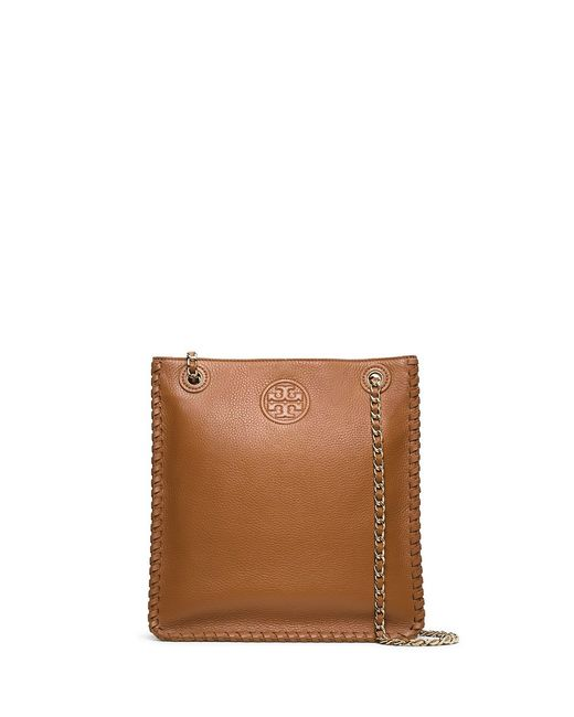 Tory Burch | Brown Marion Shoulder Bag | Lyst