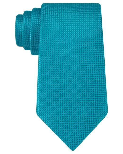 Michael Kors | Blue Michael Rene Semi Solid Tie for Men | Lyst