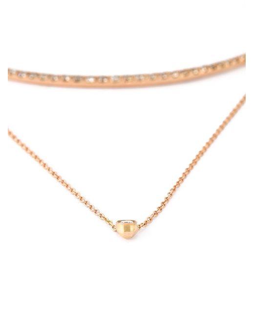 Wouters & Hendrix | Metallic Layered Diamond Necklace | Lyst