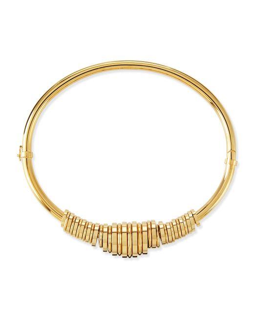 Chloé   Metallic Freja Brass Collar Necklace   Lyst