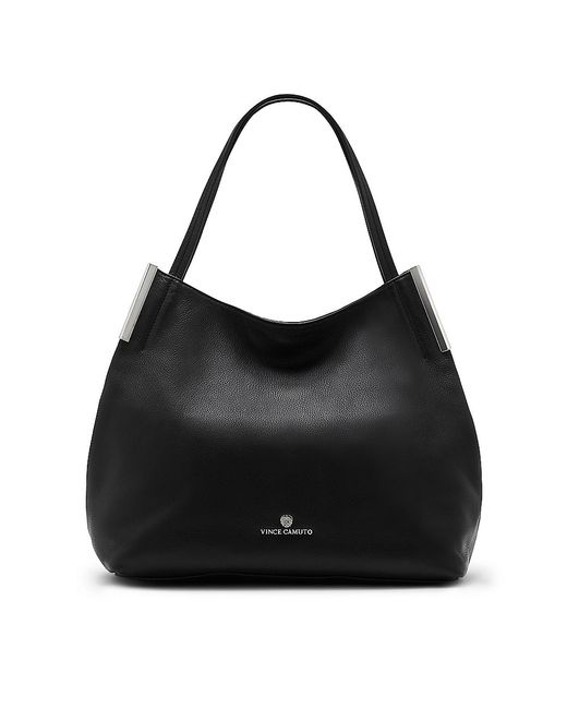 Vince Camuto | Black Tina – Triple-compartment Tote | Lyst