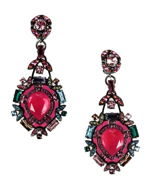 Lanvin | Red Earrings | Lyst