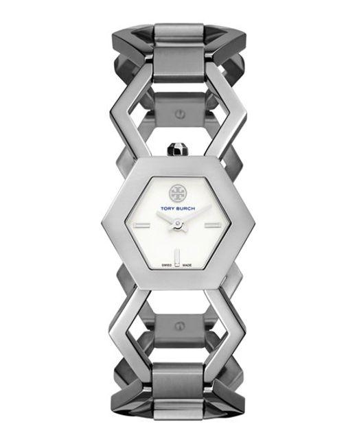 Tory Burch | Metallic 'amelia' Bracelet Watch | Lyst