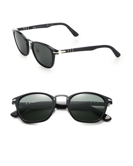 Persol | Black Phantos Suprema 51mm Polarized Sunglasses for Men | Lyst