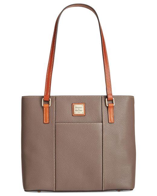 Dooney & Bourke | Gray Pebble Small Lexington Shopper | Lyst