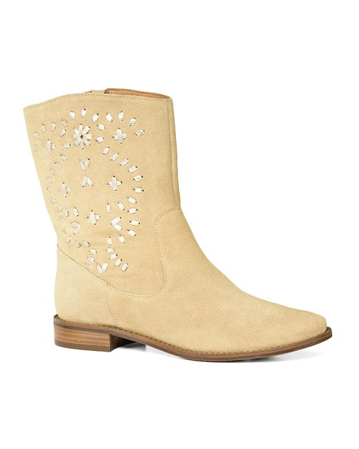 Jack Rogers | Natural Kaitlin Suede Boot | Lyst