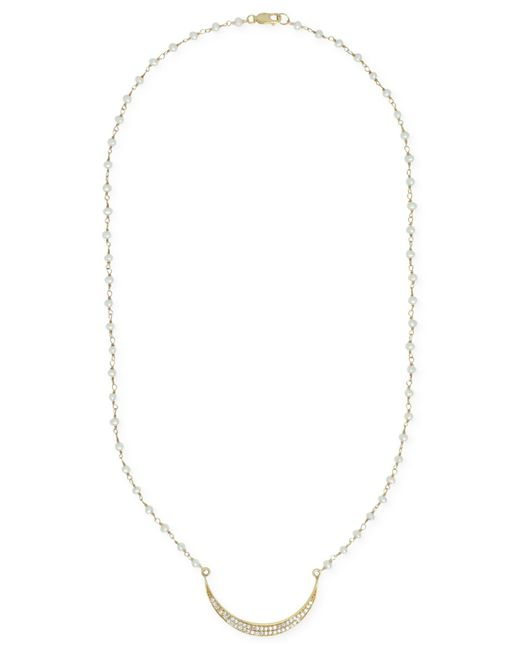 Macy's | White Tahitian Pearl Endless Strand Necklace (9mm) | Lyst