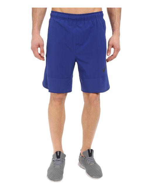 "Nike | Blue Flex 8"" Shorts for Men | Lyst"