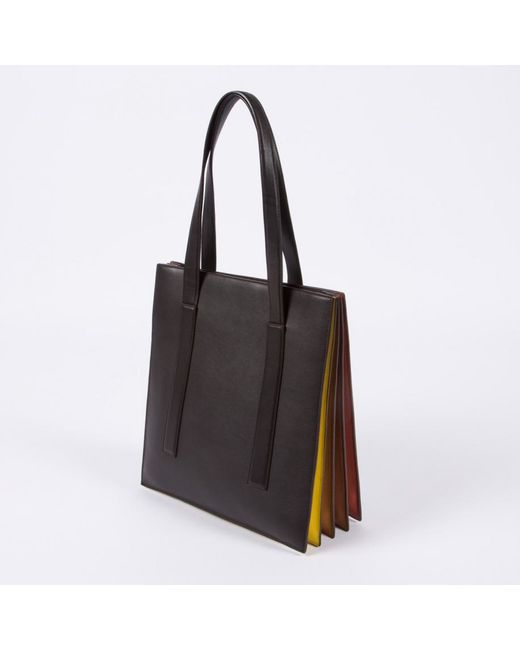 Wonderful Paul Smith Women39s Black 39concertina39 Small Tote Bag In Black  Lyst