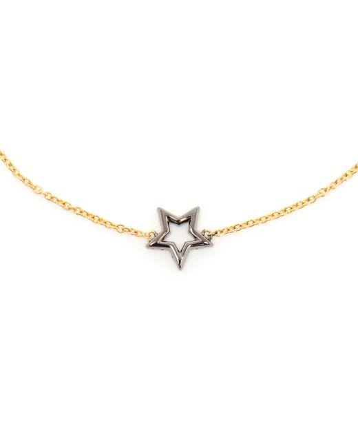 Rosa De La Cruz   Pink Diamond Star Charm Bracelet   Lyst