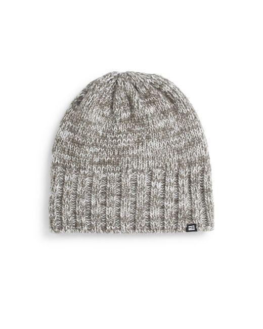 Block Headwear   Gray Marled-knit Beanie   Lyst