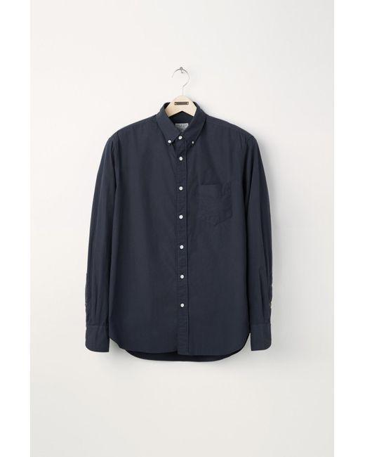 Rag & Bone   Blue Standard Issue Shirt for Men   Lyst