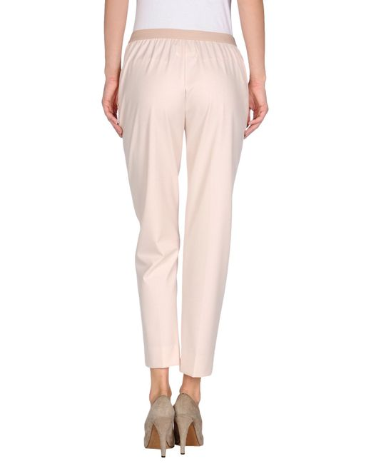 Maison Margiela Casual Pants In Pink Lyst