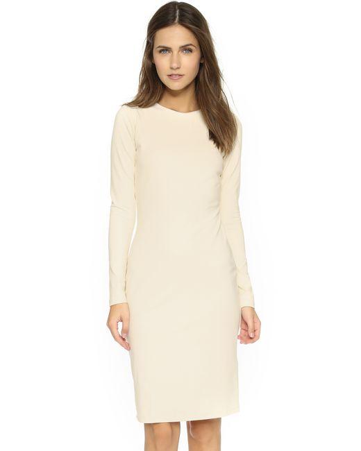 Susana Monaco | Metallic Emma Long Sleeve Dress | Lyst